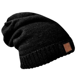 W.W Premium Fleece Lined Slouchy Beanie Hats